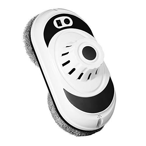 Decdeal WS600 Lavavetri Elettrici,Robot Lavavetri Magnetico,Automatica e Manuale,3min/mq Pulizia Rapida,UPS Sistema Tappetino in Microfibra,con Corda di Sicurezza,per Domestico/Regalo