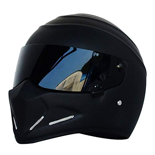 Casco moto, casco Alien, casco integral, visera, Offroad