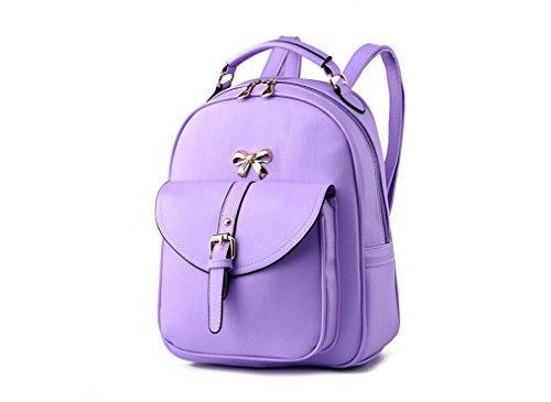 XibeiTrade - Borsa a Zainetto Ragazza donna Purple