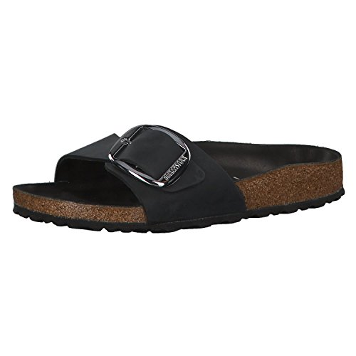 BIRKENSTOCK Damen Madrid Big Buckle Pantoletten