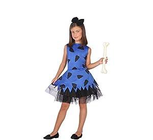 Atosa-56846 Disfraz Cavernícola, Color Azul, 5 a 6 años (56846)