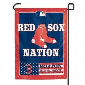 "Boston Rot Sox 11""x15"" Garden Flagge - Rot Sox Nation"
