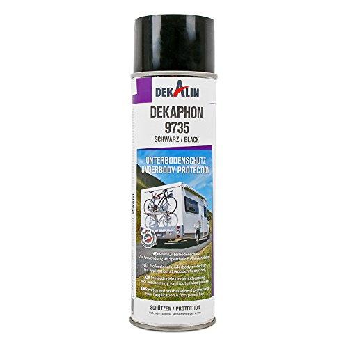 Dekaphon 9735 Unterbodenschutz Schwarz für Speerholz & Fußbodenplatten 500 ml ideal für Caravan und Wohnmobil