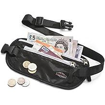 Cinturón Porta Dinero Redvers – GARANTÍA DE DEVOLUCIÓN- El mejor cinturón porta dinero para viajes – Cinturón para correr – Porta Pasaporte + Dinero + Ideal para Hombres y Mujeres
