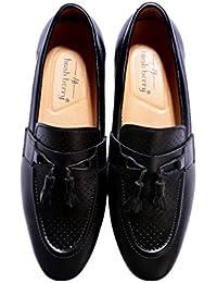 46d3719093 Hush Berry Mens Slip-On Tassel Loafer Moccasins Shoes