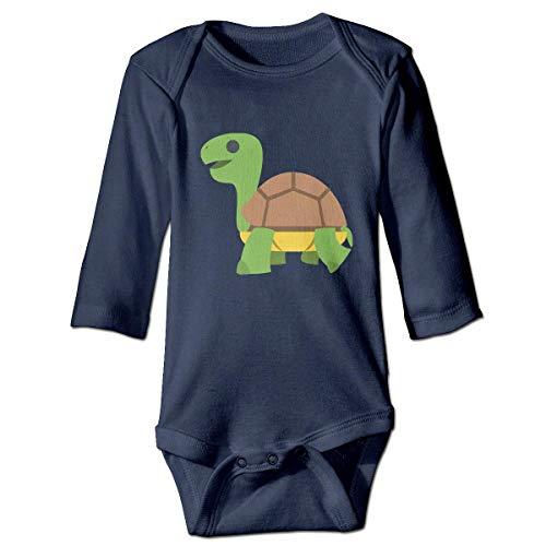 WBinHua Bodys et Combinaisons, Cartoon Happy Turtle Baby Toddler Long Sleeve Onesies Bodysuits