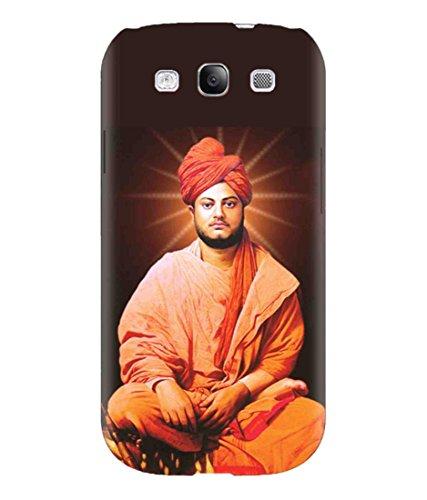 Sibu Print Youth Icone Spiritual Guru Swami Vivekananda Image Designer Printed Polycarbonate Matte Finish Hard Back Case Cover for Samsung Galaxy S3 Neo