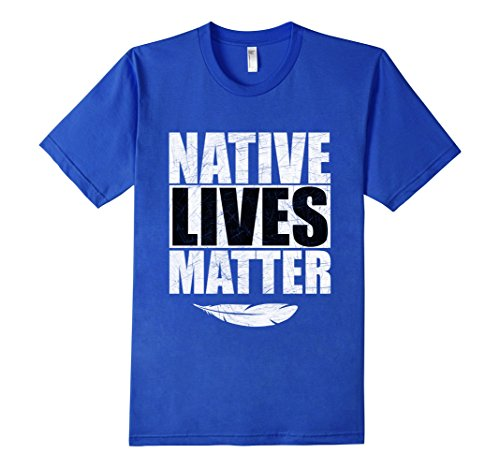 native-lives-matter-t-shirt-herren-grosse-m-konigsblau