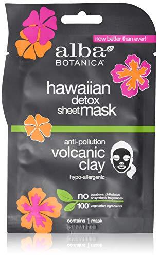 Alba Botanic Hawaiana Volcánica Arcilla Desintoxicación Hoja Máscara