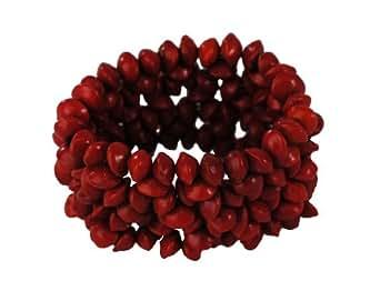 Immerschön extravagantes Armband rot in edlem Korallen-Look Armschmuck