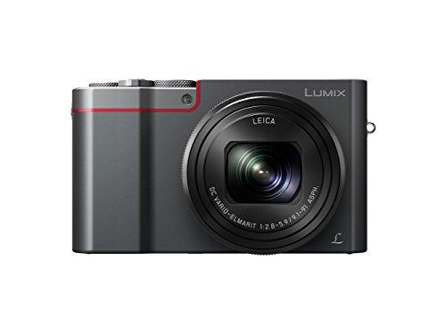 Panasonic Lumix DMC-TZ100 Digitalkamera, 20,9MP, 10x optischer Zoom, silberfarben