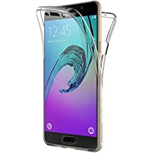 Coque Samsung Galaxy A3 2016, AICEK 360°Full Body Transparente Silicone Coque pour Samsung A3 2016 Housse Silicone Etui Case (SM-A310F 4,7 Pouces)