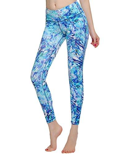 Jimmy Design - Leggings sportivi -  donna Blau
