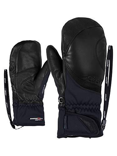 Ziener Damen KOMTESSA GTX INF PR Mitten Lady Glove Ski-Handschuhe/Wintersport | Wasserdicht, Atmungsaktiv, Black, 7