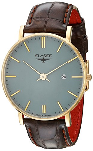 Elysee Mens Watch Classic Zelos 98002
