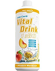 Best Body Nutrition Vital Drink, Pfirsich-Maracuja, 1er Pack (1 x 1000ml)