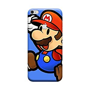 Ebby Premium Printed Mobile Back Case Cover With Full protection For Apple iPhone 6 Apple Cut (Designer Case)