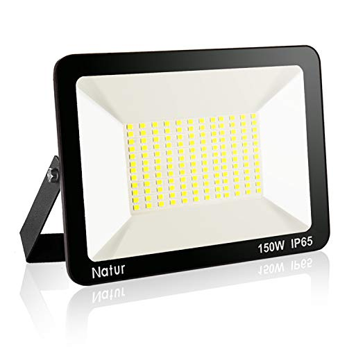 150W LED Foco exterior, Proyector Foco LED 6000K Blanco Frío Impermeable IP65...