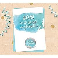 Carte à gratter annonce grossesse pour bébé 2019, La famille va s'agrandir