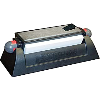 ACCUSHARP Tri Hone Sharpener Bench Kit, Black