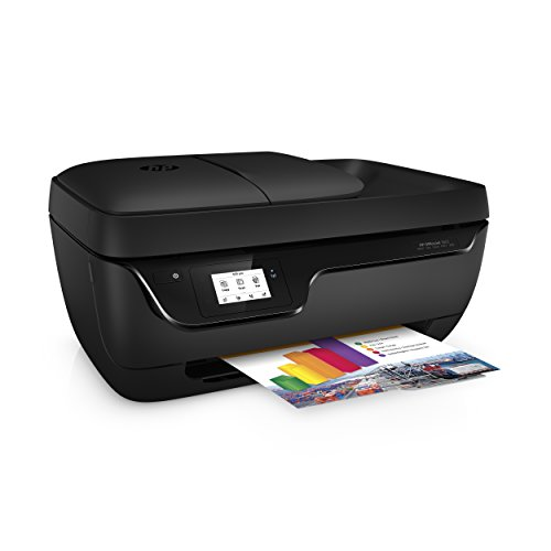 HP OfficeJet 3833 - Impresora multifunción de tinta (Wi-Fi, incluido 4 meses de HP Instant Ink, ADF, USB 2.0), color negro