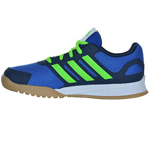 adidas Kinder Trainingsschuhe Interplay K BLAU/NEONGRÜN/NAVY