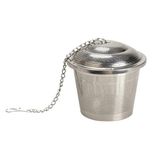 Vktech Diam 4.5cm Tea Mesh Stainless Steel Herbal Ball Infuser Tea Strainer