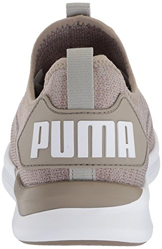 Puma Chaussures Ignite Flash Evoknit Pour Homme Rock Ridge-puma White