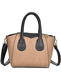 Kangrunmy Donna Moda Borsa Borsa Tracolla Casuale Tote Zip Bag Borse  Tracolla Donna Estive Borse Tracolla 3195d3f7c22