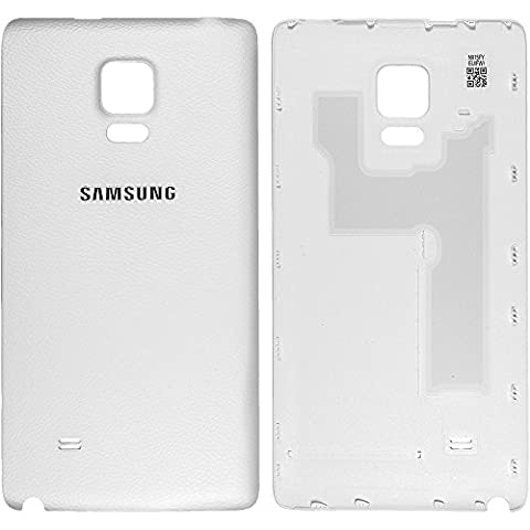 Original Samsung Akkudeckel white / weiß für Samsung N915F Galaxy Note Edge (Akkufachdeckel, Batterieabdeckung, Rückseite, Back-Cover) - GH98-35657A