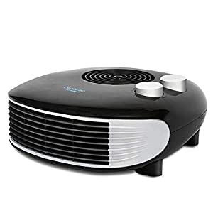 Cecotec Ready Warm 9650 Horizon Force – Calefactor Horizontal, 3 Modos, Termostato Regulable, Protección sobrecalentamiento, Antihelada, Sensor Antivuelco, 2000 W