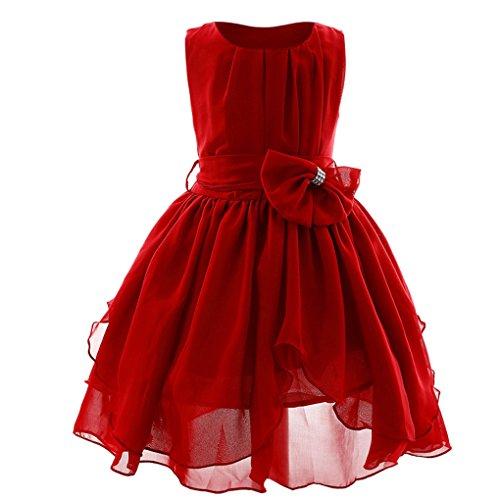 57cf2cec96 JYJM - Vestido de princesa para niña, estilo casual, para fiesta, dama de