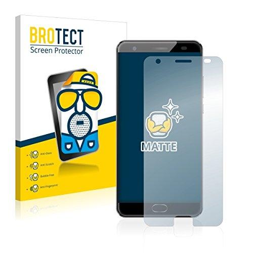 2X BROTECT Matt Bildschirmschutz Schutzfolie für Oukitel K6000 Plus (matt - entspiegelt, Kratzfest, schmutzabweisend)