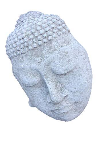 Stein Buddha-Gesicht Innen oder Garten Ornament