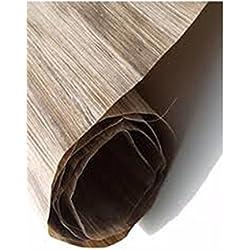 Chapa de madera de plátano. 4 piezas de 70 cm x 33 cm. Espesor 0,6mm.