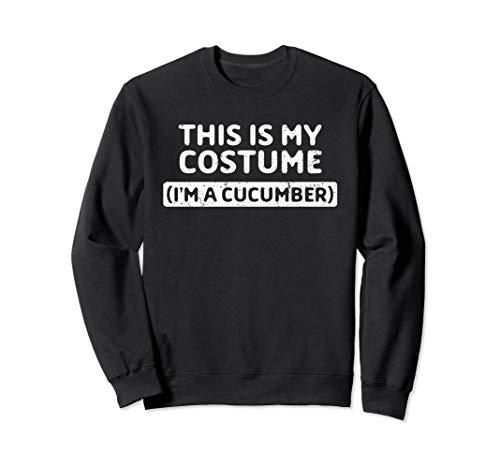 Kostüm Gurke Nacht - I'm A Cucumber Funny Halloween Gift Sweatshirt