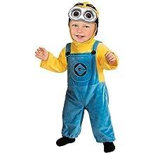 Bebé Niña Niño bebé Despicable Me Minion Disfraz Disfraz Conjunto 1-2 años 12-24 meses