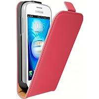 mumbi Flip Case für Samsung Galaxy Trend Lite Tasche pink