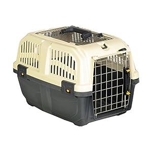 """Nobby 72134 Transportbox für kleine Hunde und Katzen """"Skudo 1 Open"""" 48 x 31.5 x 31 cm"""