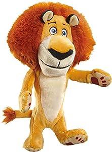 Schmidt Spiele 42707 DreamWorks Madagascar Alex - Peluche de león (18 cm)