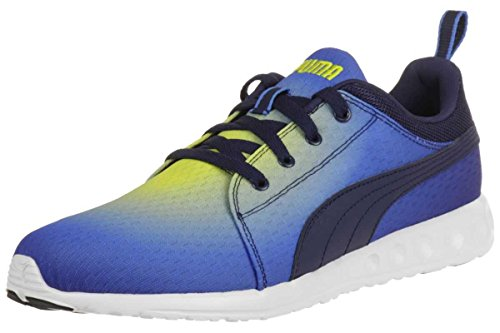 Puma Carson Runner Radial Joggingschuhe Fitnessschuhe Sneaker 188761 03 French Blue-Black-Buttercup