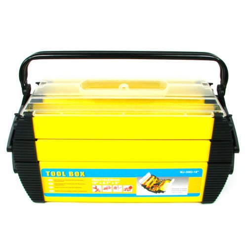 treues 75-3082Hawk Deluxe Stahl und Kunststoff Tool Box 18von 80.25von 80.75-inch -