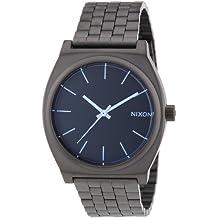 Nixon A0451427-00 - Orologio da polso uomo, acciaio inox, colore: Gun (Piatto Gigante)