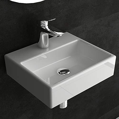 Alpenberger Keramikwaschbecken 330 mm ideal für kleine Bäder und Gäste WCs   Minimalistische & Platzsparende Form   Besonders leichte Reinigung durch schmutzabweisende Oberfläche