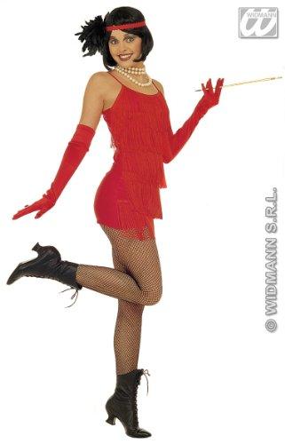 Kostüm-Set Charleston, rot, Größe M (Teen Sexy Halloween Kostüme)