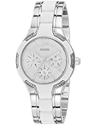Guess Damen-Armbanduhr Analog Quarz Edelstahl W0556L1