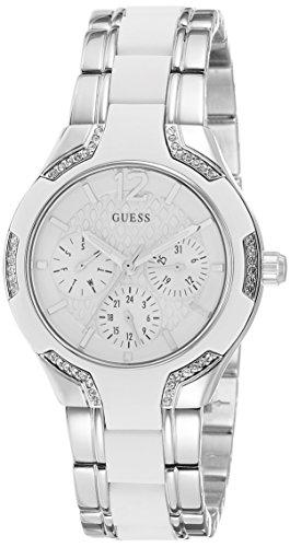 Guess - W0556L1 - Montre Femme - Quartz - Analogique - Bracelet Acier Inoxydable Argent