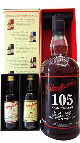 Glenfarclas - 105 Cask Stength Tasting Pack - Whisky