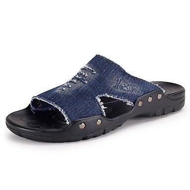pantofole Infradito da uomo Pantofole & amp;Infradito Estate Pantofole lattice casuale Tallone piano sandali US7.5 / EU39 / UK6.5 / CN40