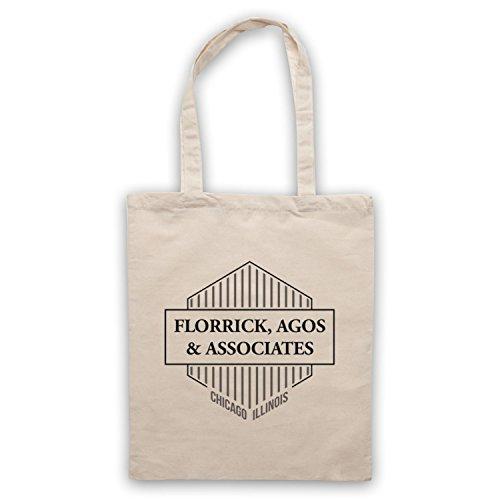 Ispirato Da Buona Moglie Florrick Agos & Associates Borse Del Capo Non Ufficiale, Naturalmente